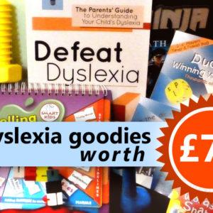 Win dyslexia-friendly goodies worth £70!