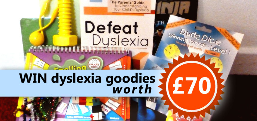 Win dyslexia-friendly goodies worth £70!