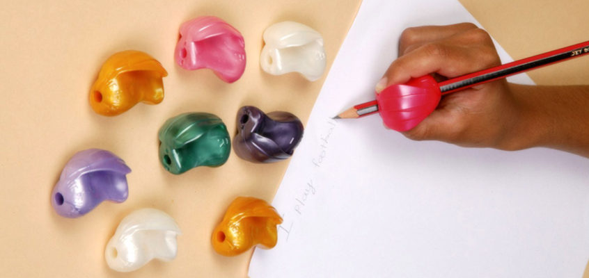 Pencil grips for dyslexic children