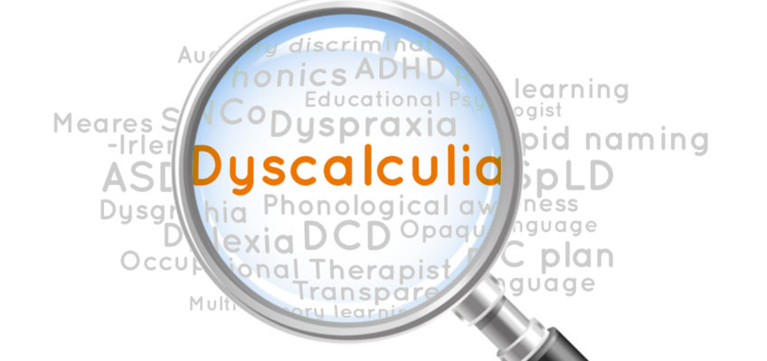 What is dyscalculia?