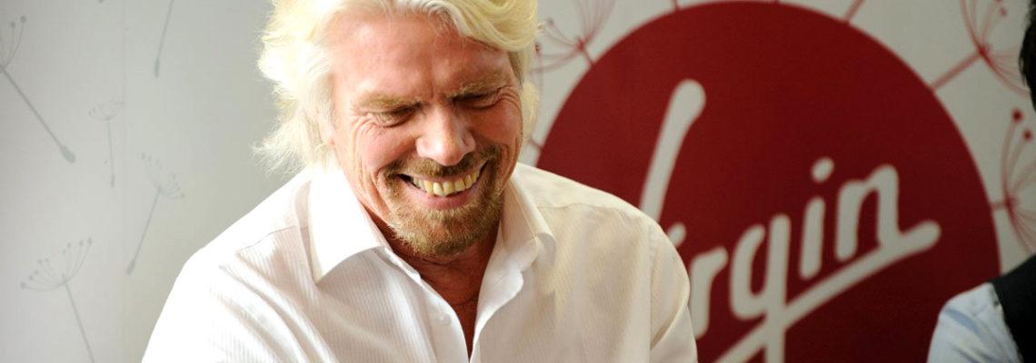 Famous dyslexic Richard Branson